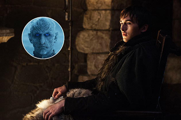 Game of Thrones Bran Night King Isaac Hempstead Wright