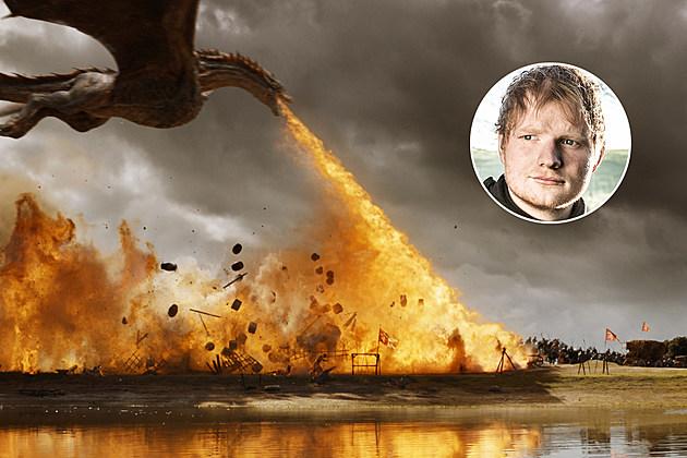 Game of Thrones Ed Sheeran Spoils of War Drogon