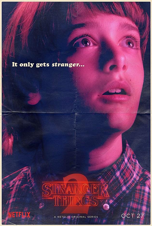 Stranger Things Season 2 Poster Will
