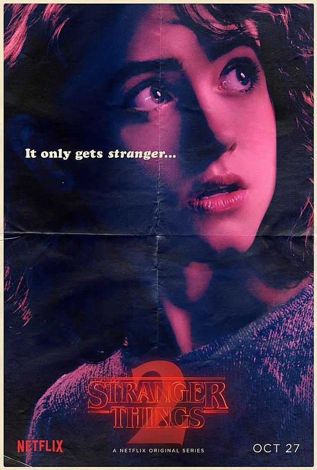 Stranger Things Season 2 Poster Nancy