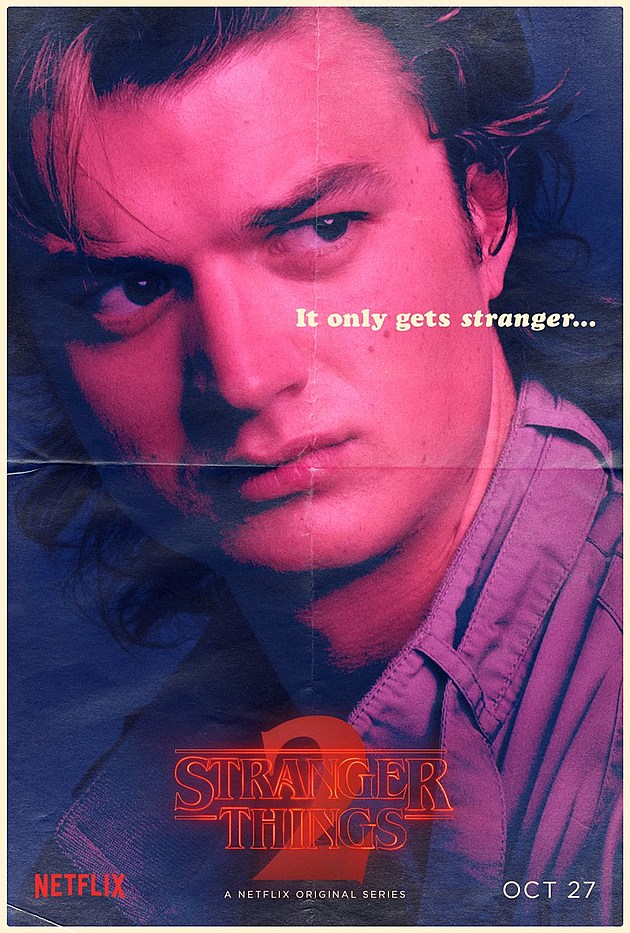 Stranger Things Season 2 Poster Steve