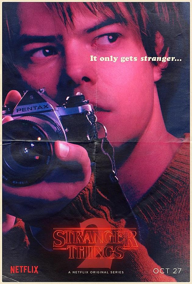 Stranger Things Season 2 Poster Jonathan
