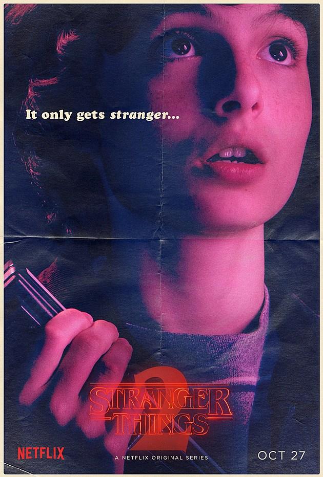 Stranger Things Season 2 Poster Mike