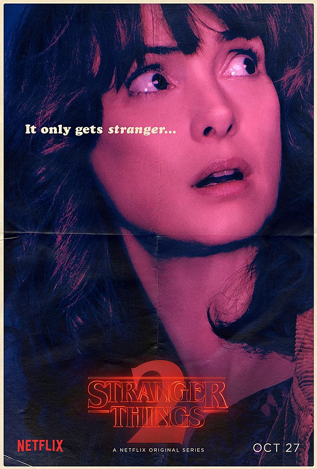 Stranger Things Season 2 Poster Joyce