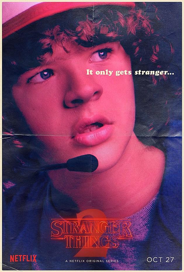 Stranger Things Season 2 Poster Dustin