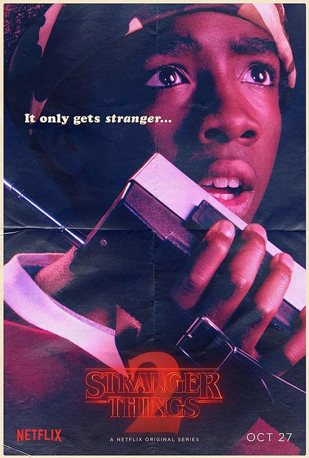 Stranger Things Season 2 Poster Lucas