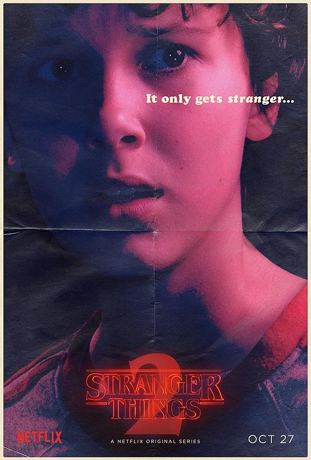 Stranger Things Season 2 Poster Eleven