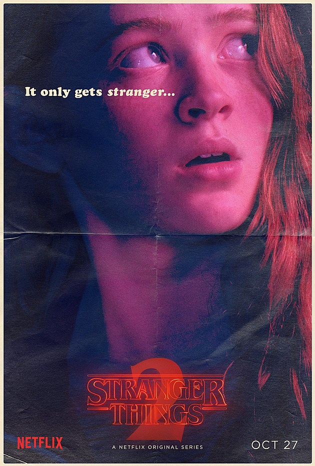 Stranger Things Season 2 Poster Max