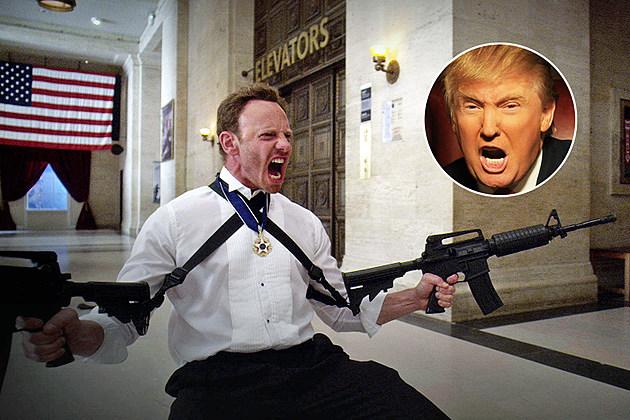 Trump Sharknado President Cameo