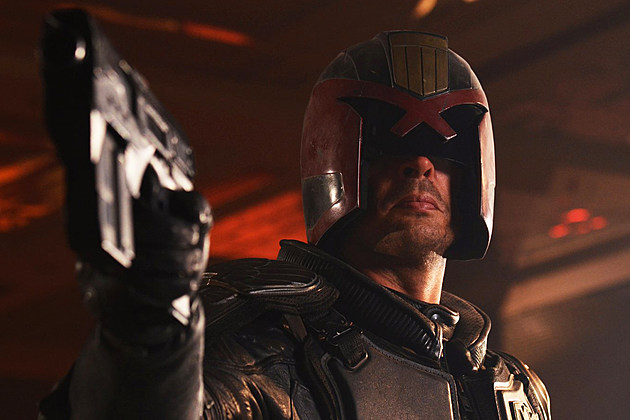 Karl Urban Judge Dredd Mega City One TV Series