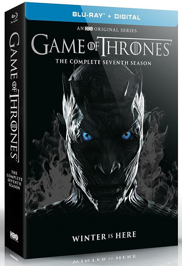 Game of Thrones Season 7 Blu Ray Cover