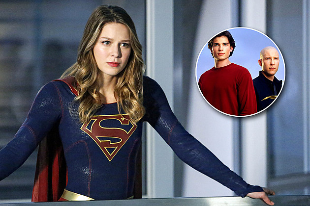 Supergirl Tom Welling Michael Rosenbaum Cameos