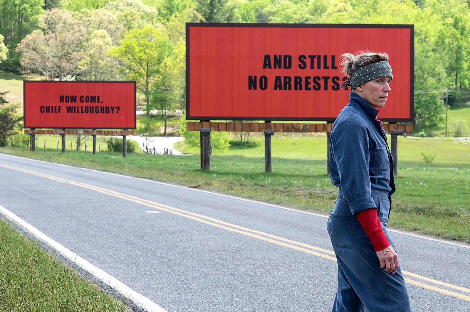 Three Billboards Outstide Ebbing Missouri