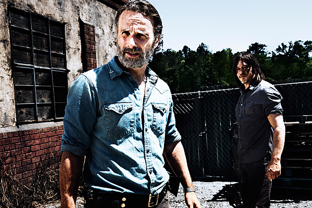 Walking Dead Andrew Lincoln Rick Leaving