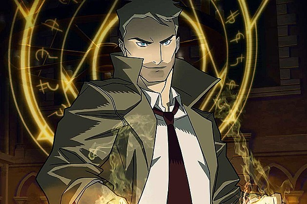 Constantine Animated Series CW Poster