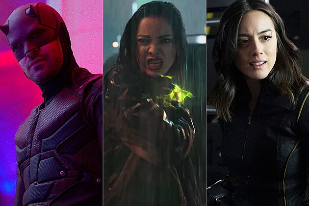 Marvel TV Superheroes Ranked