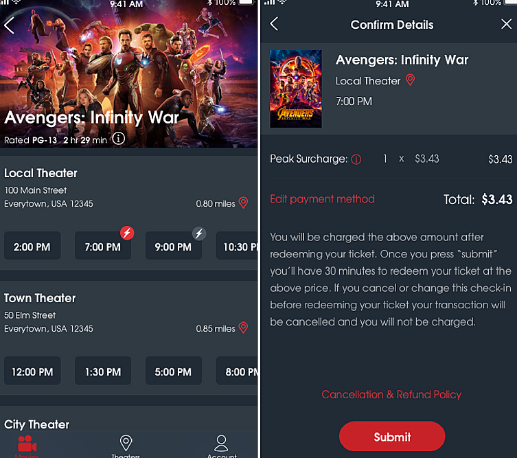 Youll Now Have To Pay Extra To Use Your Moviepass