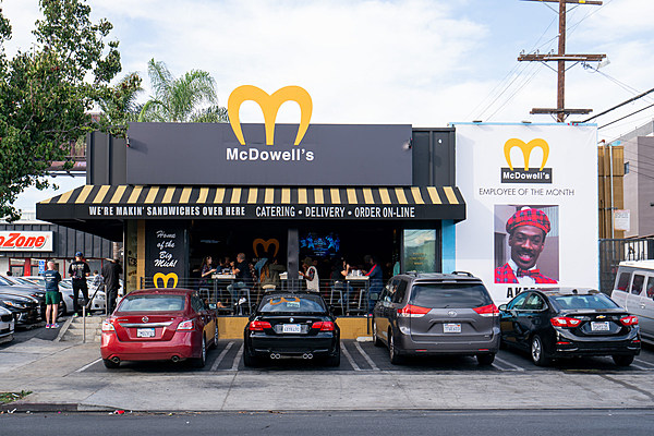 A Deli Turned Into 'Coming to America's McDowell's for ...