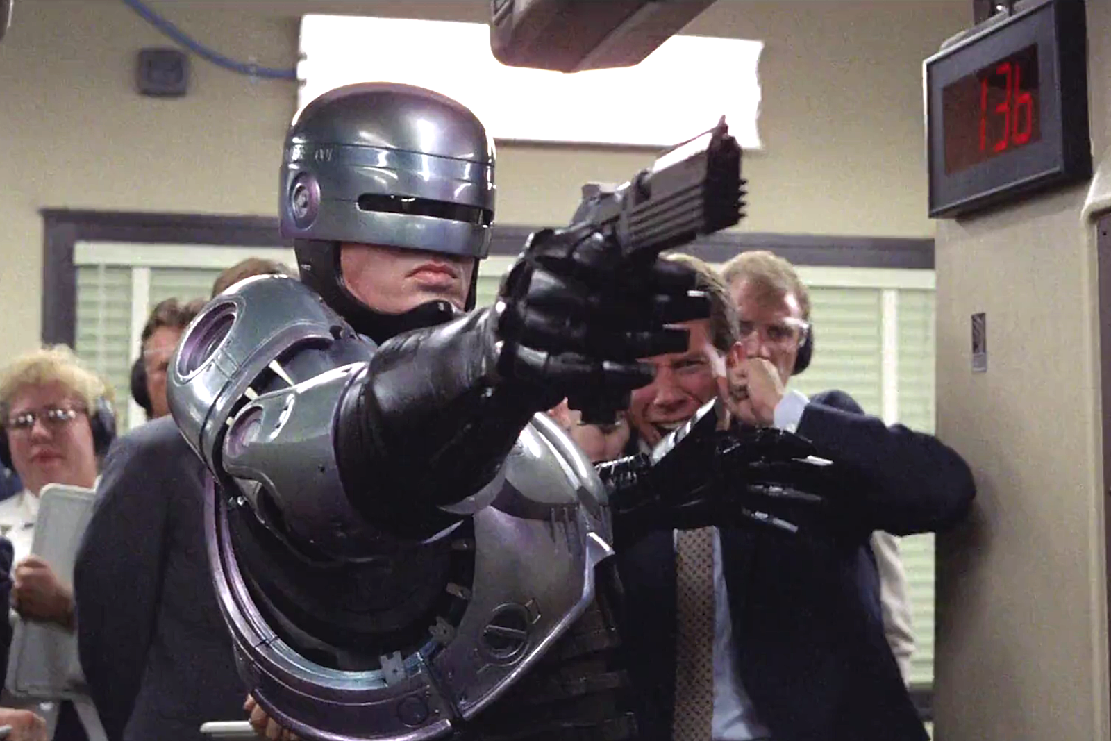 How to shoot the movie RoboKop 67