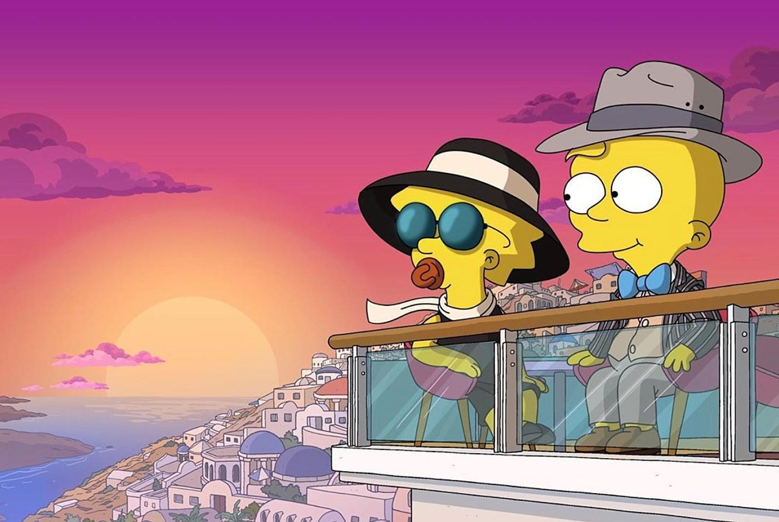The Simpsons short onward
