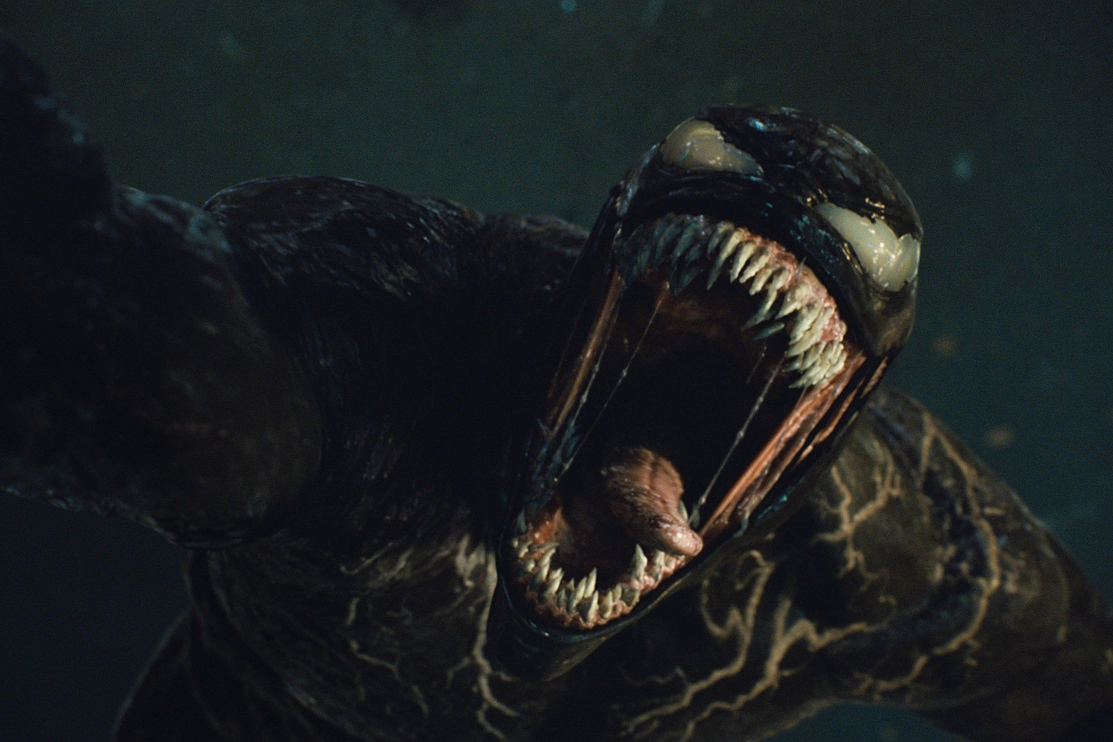 Venom in VENOM: LET THERE BE CARNAGE.